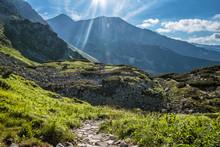 Western Tatras Mountains Scene...