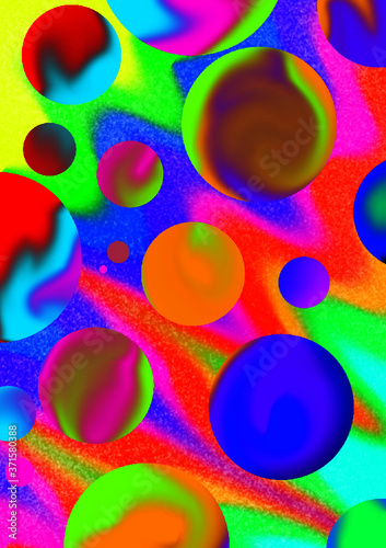 abstract background with circles #371580388