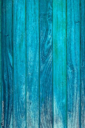 Obraz na plátně blue wood texture