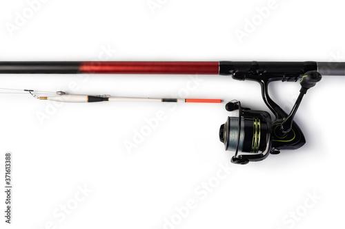Fotografie, Obraz Fishing rod and reel