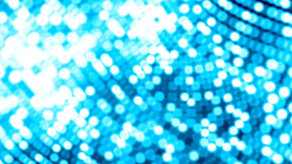Dot white blue wave light screen gradient texture background. Abstract  technology big data digital background. 3d rendering.