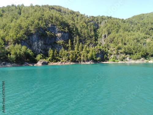 Canvastavla Landscape, Turkey, Green canyon, mountains,