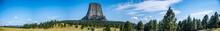 Panoramic Of Devil's Tower Nat...