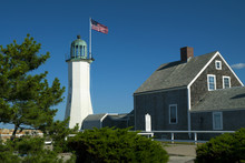 Famous Scituate Lighthouse And Keeper Quarters Are Oldest Complete Buildings