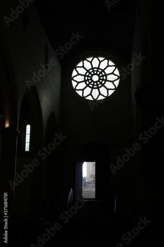 Slika na platnu Interior da igreja Gótica da Santa Maria dos Olivais