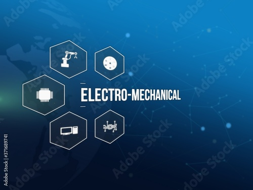 Fototapeta electro-mechanical