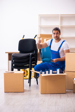 Young Male Professional Mover ...