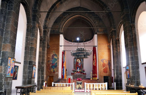 Fotografering Armenia inside Mesrop Mashtots Church