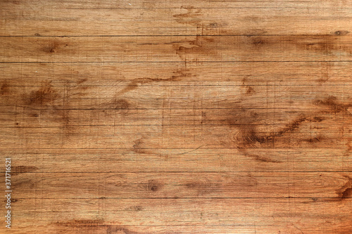 Leinwand Poster brown old wood background, dark wooden texture
