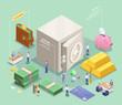 Safe Deposit Box Composition