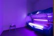 Leinwanddruck Bild - Sun tanning salon interior in hotel spa