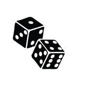 Two Dice To Gamble Or Gambling...