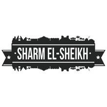 Sharm El-Sheikh Skyline Stamp ...