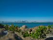 canvas print picture - Der Blick von Treasure Island nach San Francisco