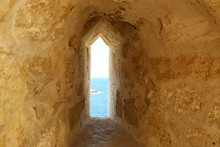 Narrow Window Inside Citadel O...