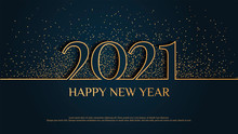 """Happy New Year 2021"" Card Des..."