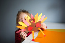 Paper Craft For Kids. DIY Turk...