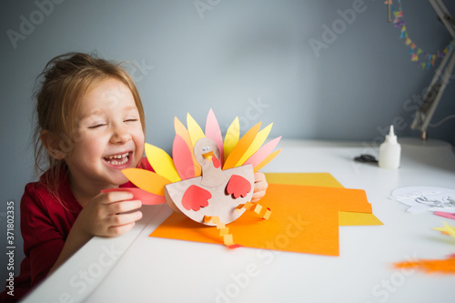paper craft for kids Canvas Print