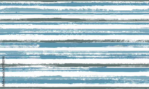 Watercolor thin parallel lines vector seamless pattern Wallpaper Mural