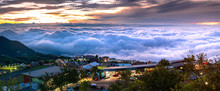 Panorama Of Mountain Scenery I...