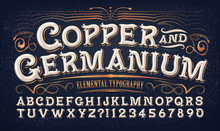 Copper And Germanium; Quaint O...