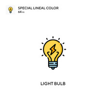 Light Bulb Special Lineal Colo...