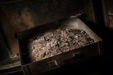 Ashes From Stove. Ashes Are On...