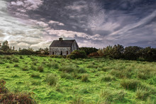 Abandoned House In The Irish Countryside
