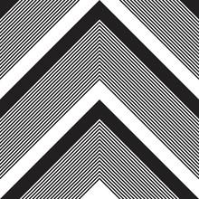 Black And White Chevron Diagon...