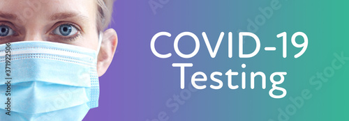 Obraz na plátně COVID-19 (Coronavirus) Testing