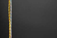 Long Ropes On Dark Background