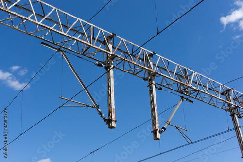 Fotografie, Obraz Railway electrification system
