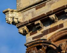 Close-up Detail Of Wimborne Minster In Dorset, UK