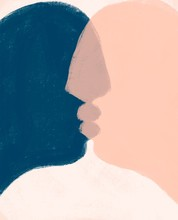 Love. Minimalistic Poster. Han...