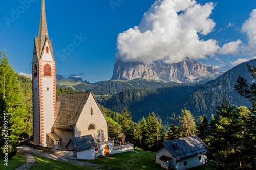 Obraz na plátně Erkundungstour durch das schöne Südtiroler Bergland - Südtirol/Italien
