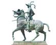 Equestrian statue of Francisco Pizarro at Plaza Mayor of Trujillo, Spain