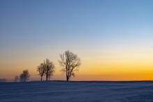 Sunrise Near Hight Tatras In W...