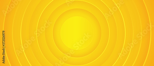 Bright sunny yellow dynamic abstract background Canvas-taulu
