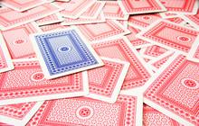Juego De Cartas Para Jugar Al Póquer, Cartas De Asar, Juego De Cartas Roja Y Azul