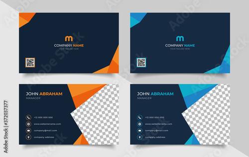 creative modern name card and business card Slika na platnu