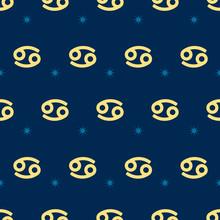 Zodiac Seamless Pattern. Repea...