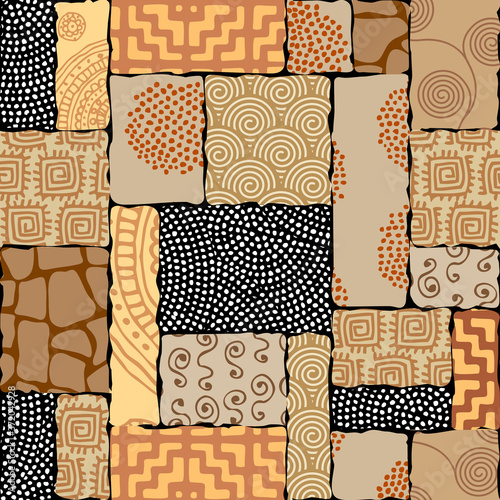 Carta da parati Seamless background pattern