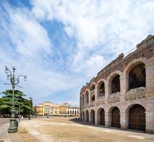Verona Arena (Arène De Vérone) ,  Piazza Bra, Vénétie, Italie