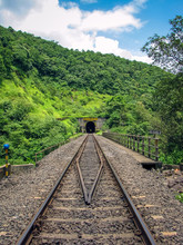 Photo Of A Railway Track Passi...