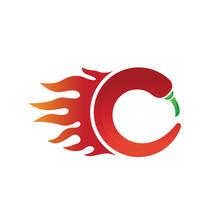 Chili Logo Designs Template, H...
