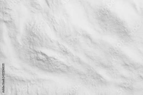 Foto Pure baking soda as background, closeup view