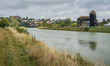 Arundel City From The River Arun