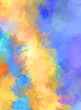 Artistic abstract background. Texture painted wallpaper. Creative illustration with strokes of paint. Brush pattern painting.