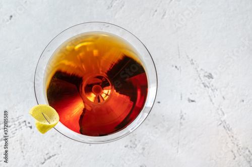 Fotografiet Glass of Martinez
