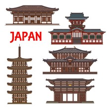 Japanese Temples And Shrines P...